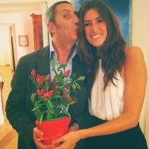 Gianmarco Chiocchi e Annalisa Chirico