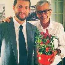 Andrea Romano e Chicco Testa